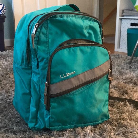 387f9b2b1a L.L. Bean Handbags - L.L Bean Deluxe Book Pack Backpack